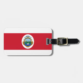 Flag of Costa Rica Travel Bag Tags