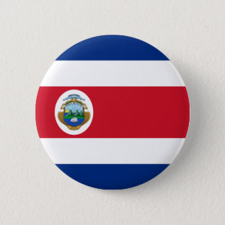 Flag of Costa Rica on Pin / Button Badge