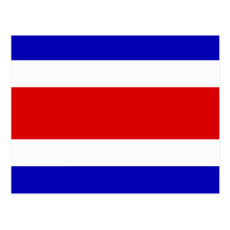 Flag of Costa Rica Postcard