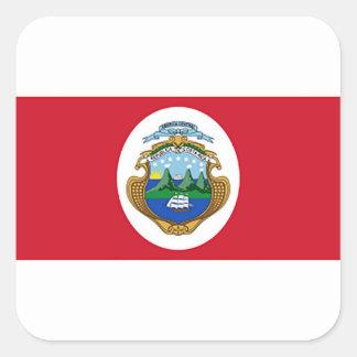 Flag of Costa Rica Sticker
