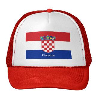 Flag of Croatia Cap