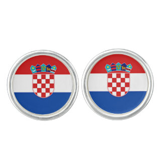 Flag of Croatia Cuff Links