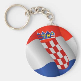 Flag of Croatia keychain