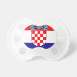 Flag of Croatia Pacifier