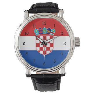 Flag of Croatia Watch