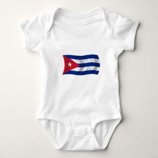Flag of Cuba Baby Bodysuit