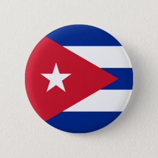 Flag of Cuba Button