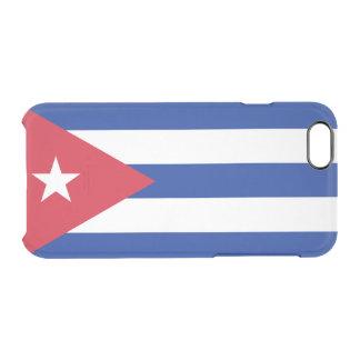 Flag of Cuba Clear iPhone Case