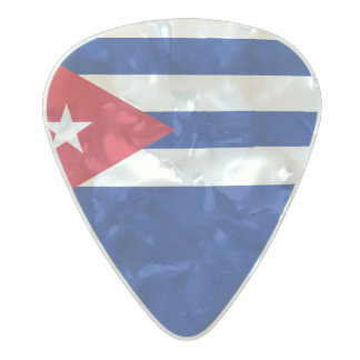 Flag of Cuba Guitar Picks