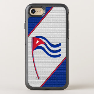 Flag of Cuba OtterBox Symmetry iPhone 8/7 Case