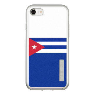 Flag of Cuba Silver iPhone Case