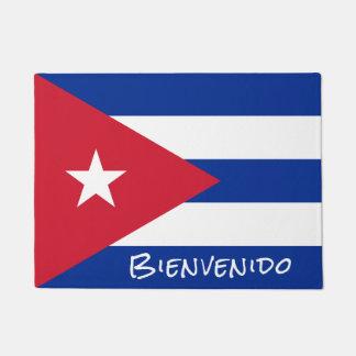Flag of Cuba Welcome Doormat