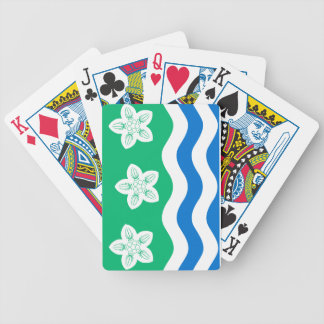 Flag of Cumberland Bicycle Playing Cards