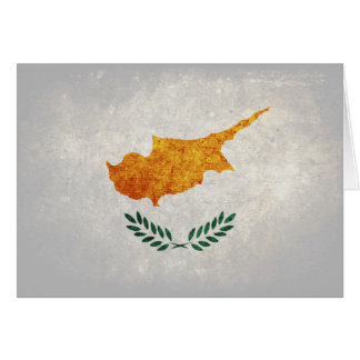 Flag of Cyprus Note Card