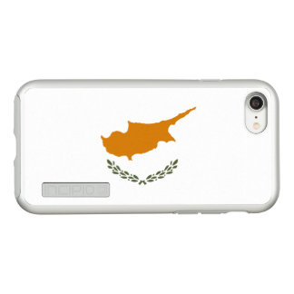 Flag of Cyprus Silver iPhone Case