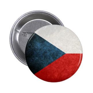 Flag of Czech Republic Pinback Button