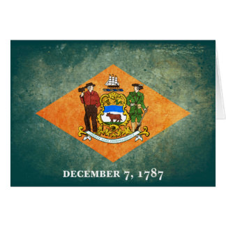 Flag of Delaware Note Card