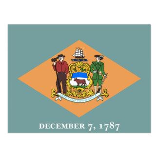 Flag of Delaware Postcard