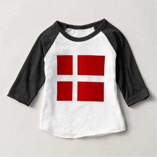 Flag of Denmark Baby T-Shirt