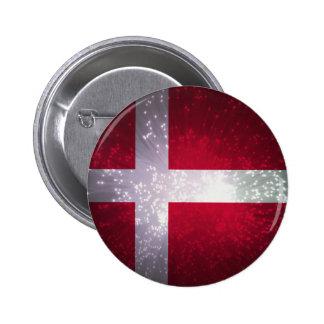 Flag of Denmark Pinback Button
