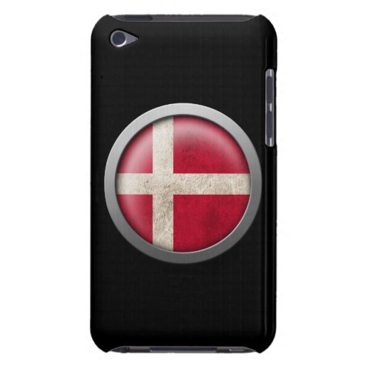 Flag of Denmark Disc Barely There iPod Covers