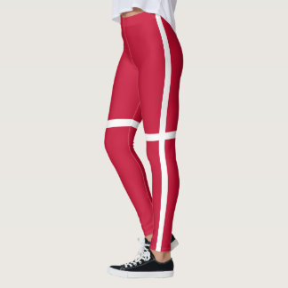 Flag of Denmark Leggings