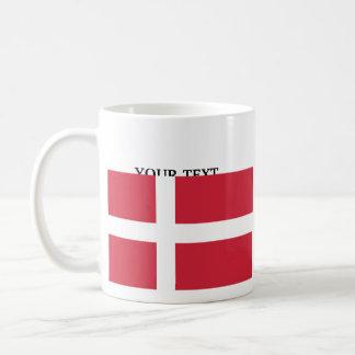 Flag of Denmark Basic White Mug