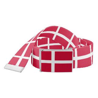 Flag of Denmark or Danish Cloth Belt