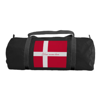 Flag of Denmark or Danish Cloth Gym Bag