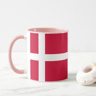 Flag of Denmark or Danish Cloth Mug