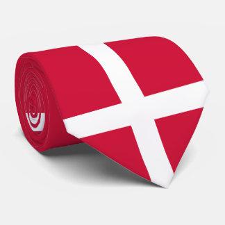 Flag of Denmark or Danish Cloth Tie