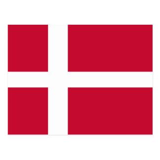 Flag of Denmark Postcard