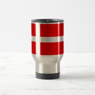 Flag of Denmark Travel Mug