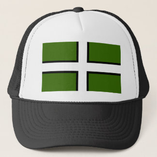 Flag of Devon Trucker Hat