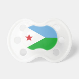 Flag of Djibouti 0-6 months BooginHead® Pacifier