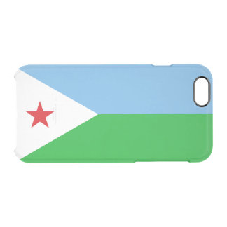 Flag of Djibouti Clear iPhone Case