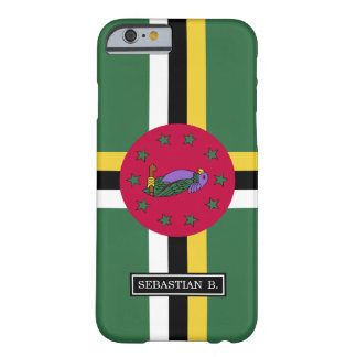 Flag of Dominica Barely There iPhone 6 Case