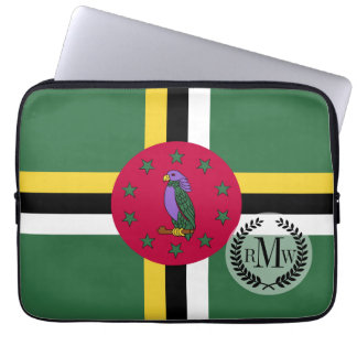 Flag of Dominica Computer Sleeves