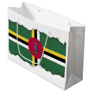 Flag of Dominica Large Gift Bag
