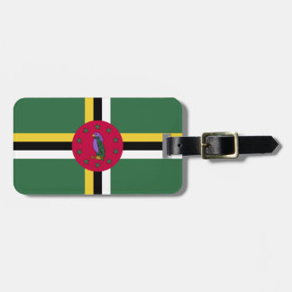 Flag of Dominica Luggage Tag
