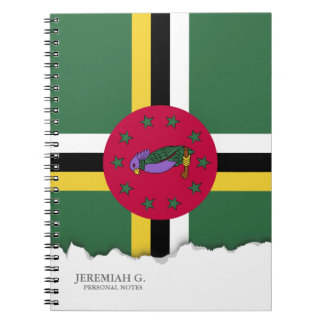 Flag of Dominica Notebook