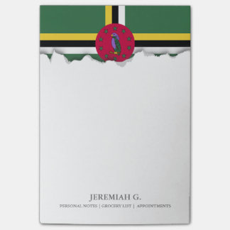 Flag of Dominica Post-it® Notes