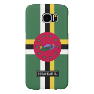 Flag of Dominica Samsung Galaxy S6 Cases