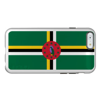 Flag of Dominica Silver iPhone Case Incipio Feather® Shine iPhone 6 Case
