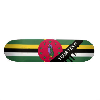Flag of Dominica Skate Board Decks