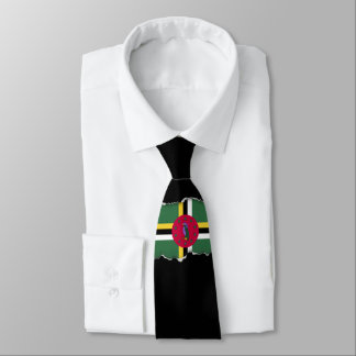 Flag of Dominica Tie