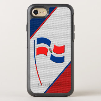 Flag of Dominicana OtterBox Symmetry iPhone 7 Case