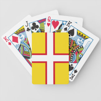 Flag of Dorset Bicycle Playing Cards
