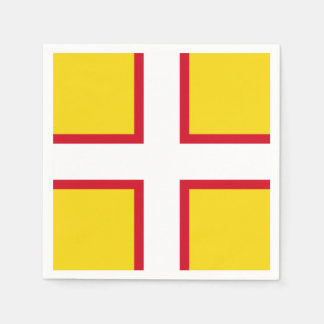 Flag of Dorset Disposable Napkins