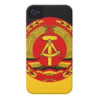 Flag of East Germany - Flagge der DDR (GDR) - NVA iPhone 4 Case-Mate Case